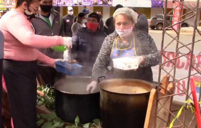 Más de 25.000 platos fueron servidos por las Ollas Populares en Encarnación