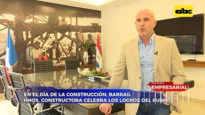 Barrail hnos. constructora celebra los logros del rubro