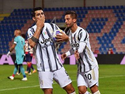 Un gol de Morata evita la derrota de Juventus