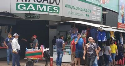 La Nación / CDE: mejora movimiento comercial, pero preocupa mal uso de tapabocas