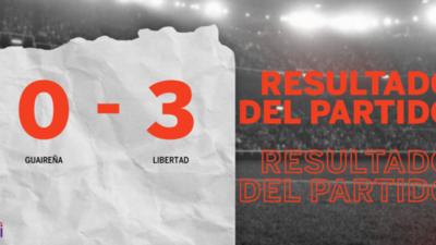 Con doblete de Sebastián Ferreira, Libertad derrotó a Guaireña