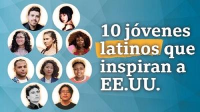 La historia de 10 latinos menores de 30 años que inspiran a Estados Unidos