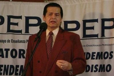 El periodista deportivo y docente Juan Ángel Gómez falleció tras dar batalla a un ACV