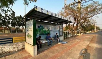 Anuncian instalación de 30 paradas de buses inclusivas y sustentables
