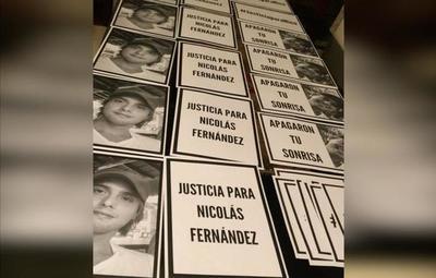 Familiares de Nico Fernández convocan a caravana para exigir justicia