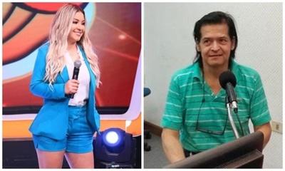 Fátima Román lamentó la partida de Juan Ángel Gómez