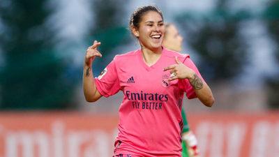 Jessica Martínez anota en victoria del Real Madrid
