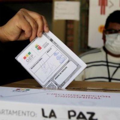 Gran despliegue de la fuerza pública ante elecciones en Bolivia