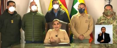 """Elecciones en Bolivia – Jeanine Áñez: """"Hemos tenido una fiesta pacífica y democrática"""""""