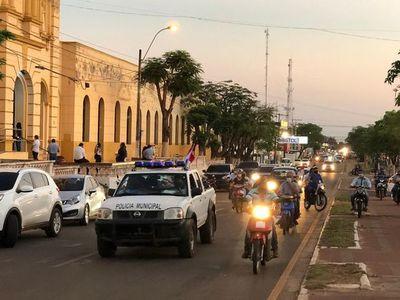 Critican falta de institucionalidad durante caravana por la paz