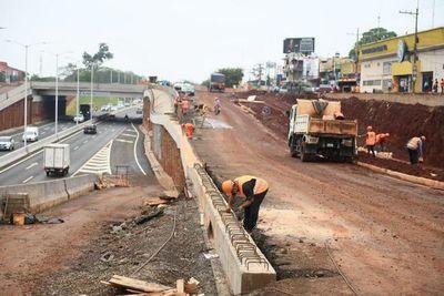 Obras del multiviaducto de CDE con 67% de avance