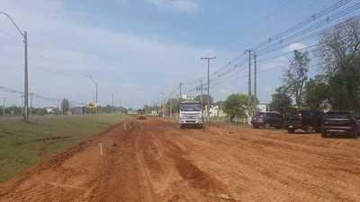 Se inicia obra de reconstrucción de la ruta Concepción-Pozo Colorado