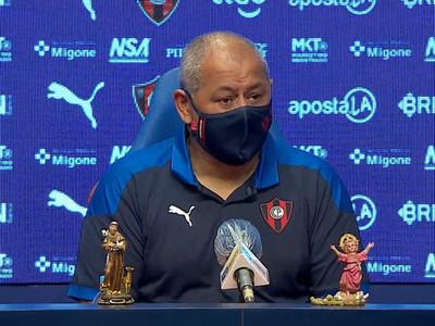 Arce afirma que Cerro Porteño ganó de manera justa