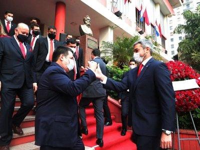 Marito y Cartes posicionan fichas para la Convención de noviembre