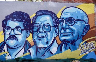 Mural por los 92 años de pa'i Oliva