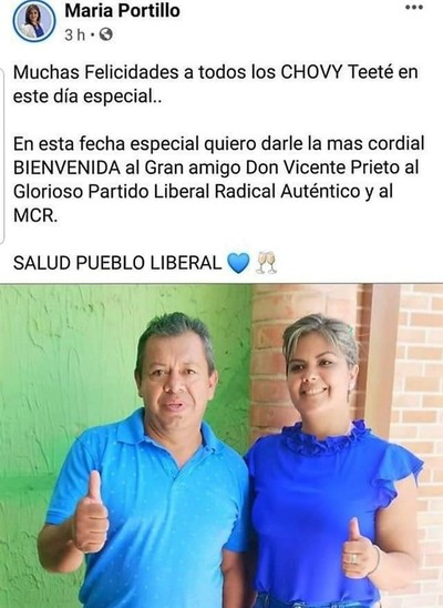 Que hay DETRÁS de la afiliación del padre de Prieto al PLRA