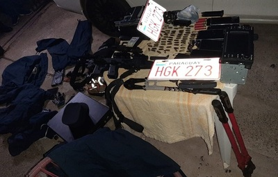 Policía realiza varios allanamientos vinculados a casos de asaltos