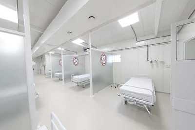 Limpio: Habilitan pabellón de contingencia para atención a pacientes con coronavirus