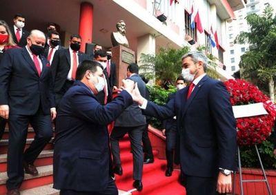 Marito y Cartes posicionan fichas para la Convención colorada de noviembre