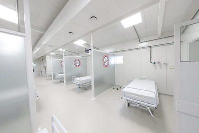 Limpio: habilitan pabellón de contingencia para pacientes con COVID