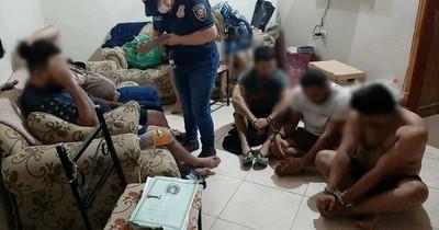 La Nación / Detienen a presuntos delincuentes acusados de 10 asaltos en Central