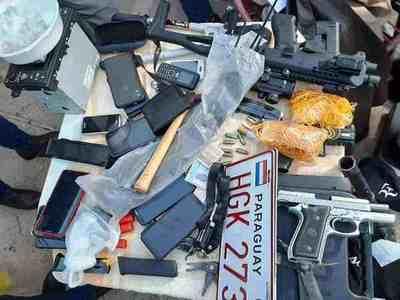 Policía desbarata una banda delictiva y aclara al menos 10 asaltos en Asunción y Central •