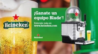 """Continúa la promo """"Ganate un Blade"""" de Heineken"""