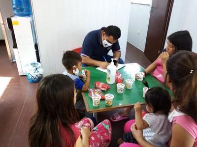 Refuerzan atención a la niñez indígena en la terminal de Asunción