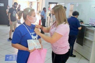Essap y SND se unen para concientizar sobre la prevención del cáncer de mama