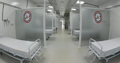Habilitan pabellón de contingencia para pacientes con Covid-19 en Limpio