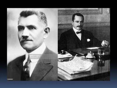 Robaron urnas de dos expresidentes y tiraron sus restos