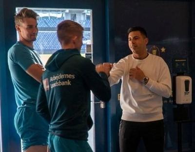 HOY / Blas Riveros se acopla a los trabajos de su nuevo equipo