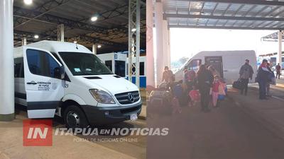 NUEVO RETORNO DE COMPATRIOTAS A ITAPÚA