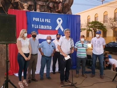 «No tenemos nada que festejar»: liberales recuerdan gesta del 18 de octubre pidiendo libertad de exvicepresidente