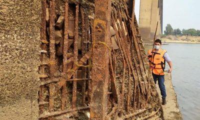 Puente Remanso, sin mantenimiento general desde hace 41 años