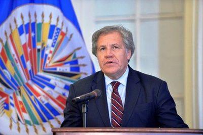 Luis Almagro felicitó a Luis Arce por los resultados en Bolivia
