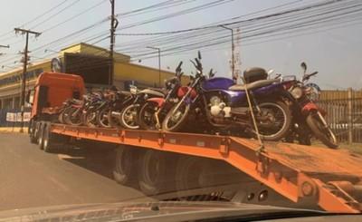 Destruirán medio centenar de biciclos retenidos por la Caminera