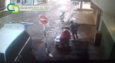 Concepción: Asaltan a una trabajadora del mercado municipal