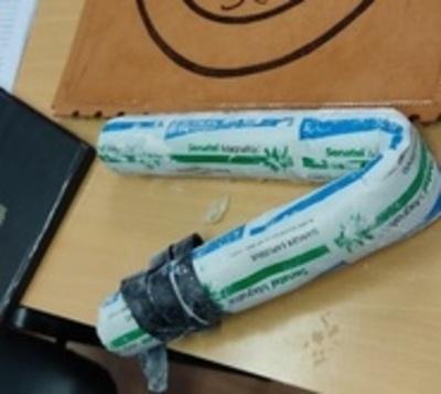 Intentó ingresar dinamita en gel a cárcel de Tacumbú