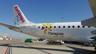 Air Europa reinicia vuelos regulares a Paraguay