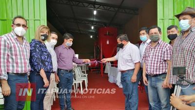 INAUGURAN PLANTA PROCESADORA DE BALANCEADOS EN ALTO VERÁ