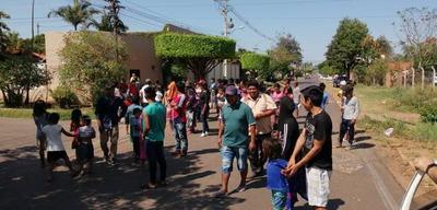 Indígenas exigen respuestas a sus pedidos – Prensa 5