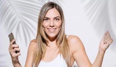 Nati Sosa Jovellanos, a los besos con su nuevo amor