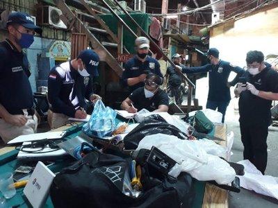 Fiscalía apunta a una fuga masiva en Tacumbú tras hallazgo de dinamita