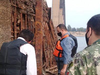 MOPC reparará estructura del Puente Remanso aprovechando bajo nivel del río