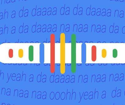 Ya podés buscar canciones tarareando o silbando en Google