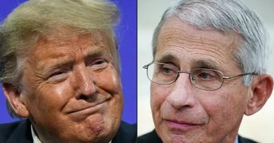 """La Nación / Trump critica al Dr. Fauci, experto en COVID-19, """"y a todos estos idiotas"""""""