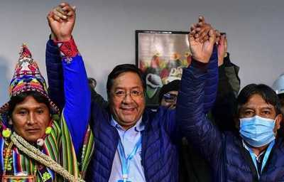 ¡Nuevo Pdte en Bolivia! Candidato de Evo arrasa en elecciones