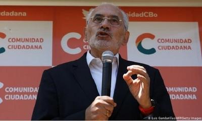 Bolivia: Carlos Mesa reconoce triunfo de Luis Arce, candidato del Movimiento al Socialismo