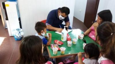 Refuerzan atención a niños y adolescentes indígenas en la zona de la terminal